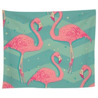 Flamingo Birds Tapestry