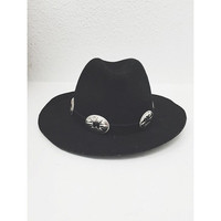 Oval Concho Hat Band