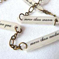 Bob Dylan Key Charm Necklace