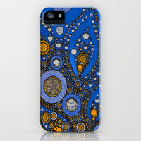 :: My Blue Bandana :: iPhone Case by GaleStorm Artworks