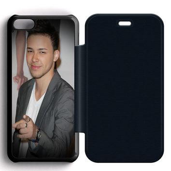 Prince Royce Leather Wallet Flip Case iPhone 5C