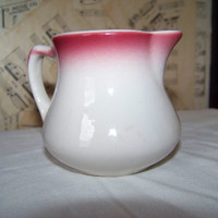 Vintage Buffalo China R 11 Creamer--Retro Restaurant Ware--Syrup Pitcher--Kitchenware--Nostalgic Charm--