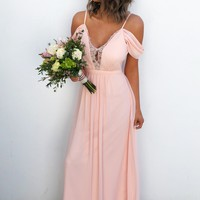 Will You Be My Bridesmaid Dress: Peach