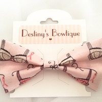 Breast Cancer Awareness Donation Bow