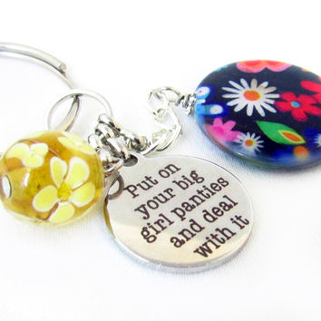 Deal with it Keychain