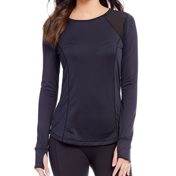 Nanette Lepore Play Active Long Sleeve Active Tee | Dillards