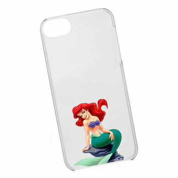 iphone case,ariel mermaid clear,iphone 5 case,iphone 4/4s case,samsung s3,s4 case,accesories,cell phone,hard plastic.