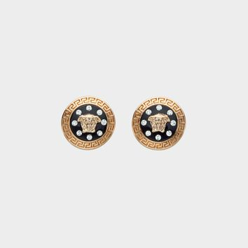 Versace Resin Medusa Stud Earrings for Women | US Online Store