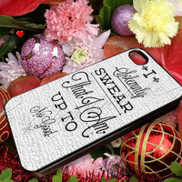 i solemnly swear that i am harry potter - for iPhone 4/4s, iPhone 5/5s/5c, Samsung S3 i9300, Samsung S4 i9500 Hard Case **