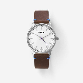 BREDA ZAPF BROWN/PURPLE WATCH