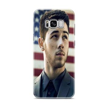 Nick Jonas Flag Samsung Galaxy S8 | Galaxy S8 Plus Case
