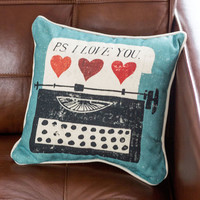 Keys to Your Heart Pillow | Mod Retro Vintage Decor Accessories | ModCloth.com