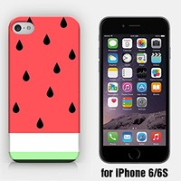 for iPhone 6/6S - Watermelon - Tropical Fruit - Summer - Pastel - Hipster