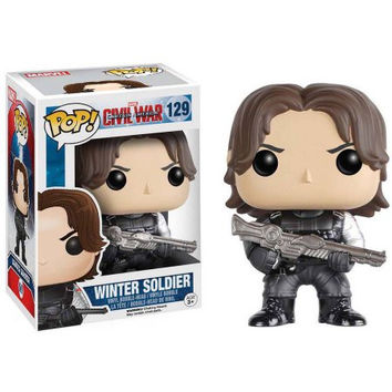 Funko Pop! Marvel: Captain America: Civil War, Winter Soldier 129