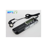 8GB High Quality Voice Recorder 576Hr MP3 Player Black