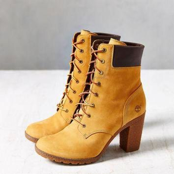 DCCK8X2 Timberland Glancy Wheat Heeled Boot | Urban Outfitters