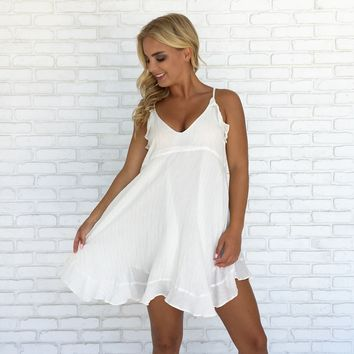 Sweetheart Dress In Ivory