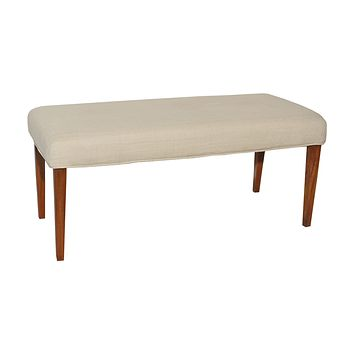 7011-121-B Couture Covers Double Bench Cover - Light Cream