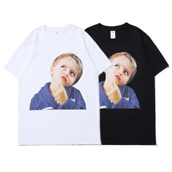 YouthCodes Patchwork Character T Shirts Men Kanye West Brand Fashion Geek Adventure Time 3D T Shirt Eminem Naughty New York 2019