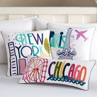 Destination Pillow Covers
