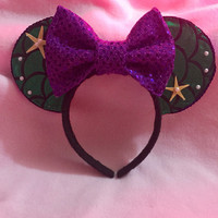 Minnie Mouse Ears (ariel)