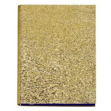 Large Sketchwrite Journal  Gold Metallic Leather