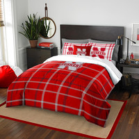 Nebraska Cornhuskers NCAA Full Comforter Set (Soft & Cozy) (76 x 86)