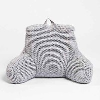 Plum & Bow Cable Knit Boo Pillow