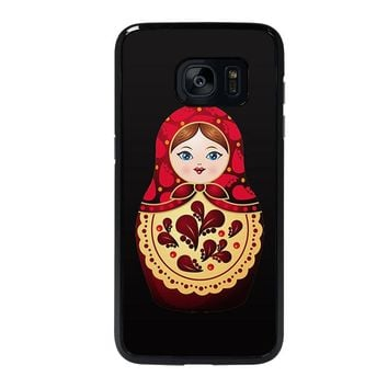 MATRYOSHKA RUSSIAN NESTING DOLLS Samsung Galaxy S7 Edge Case Cover