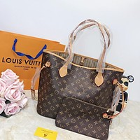 shosouvenir Louis Vuitton LV Monogram Neverfull MM Bag