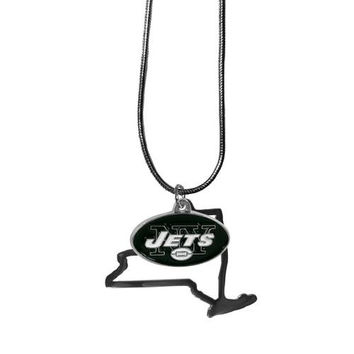 New York Jets Necklace - State Charm