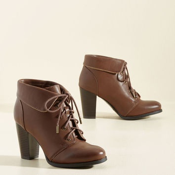 Well-Versatile in Style Bootie | Mod Retro Vintage Boots | ModCloth.com