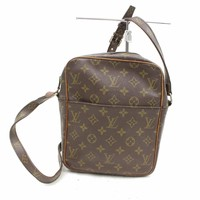 Authentic Louis Vuitton Shoulder Bag Browns Monogram 27547