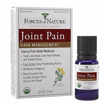Forces Of Nature Joint Pain Management, Organic - 11 Ml