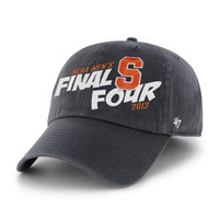 NCAA Final Four Syracuse Orange Adjustable Washed Twill Cap by '47 Brand