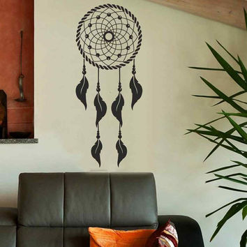 BATTOO Dream Catcher Wall Decal Native American Decor Feathers W Part 84