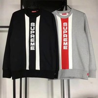 Supreme Fashion Top Sweater Pullover Sweatshirt