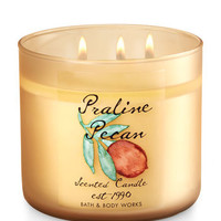 Praline Pecan 3-Wick Candle | Bath And Body Works