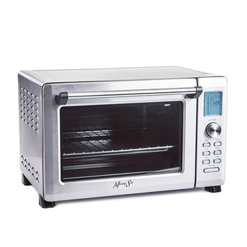 """Morning Star - Extra Large - Infrared (No Preheat Needed) + Convection Countertop Digital Toaster Oven, Stainless Steel, XL 21""""x13""""x13.5"""" exterior, 12-slice"""