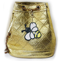 Bee - key ring, bag accessories , pendant, hangers