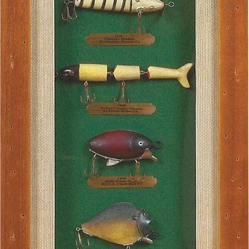 Fishing Frames - Deluxe Lure History Box