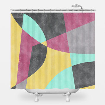Fragments II Shower Curtain