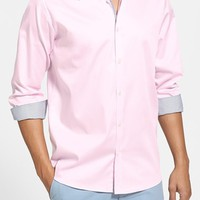 Men's Ted Baker London 'Plancuf' Extra Trim Stretch Sport Shirt,