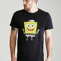 Metallic SpongeBob Graphic Tee