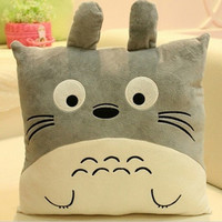 Lovely Anime Cartoon Emoticons Totoro Plush Cushion Pillow Emoji