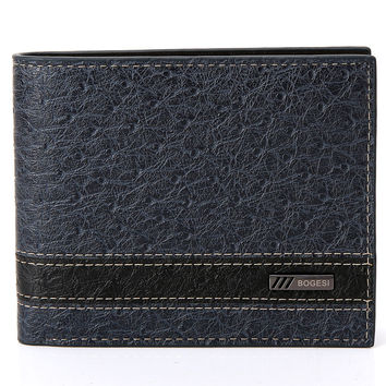 Men PU Leather Wallet [8830605443]