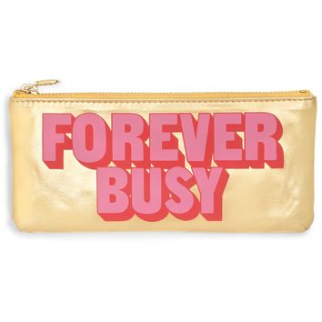 Forever Busy Get It Together Pencil Pouch by Bando