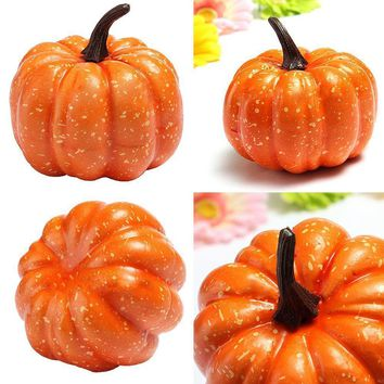 Fake Decorative Halloween Pumpkin Props Pretend Food High Quality Mini Artificial Photography Property Food Faux Vegetables
