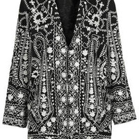 PREMIUM EMBROIDERED DUSTER JACKET