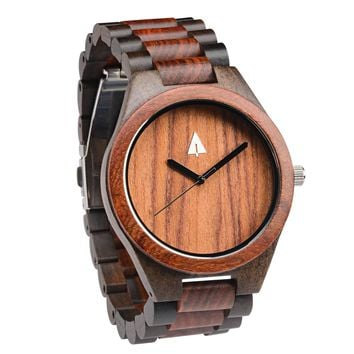All Wood Watch // Redwood + Ebony 27